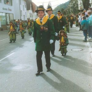 Umzug in Tennenbronn 90er